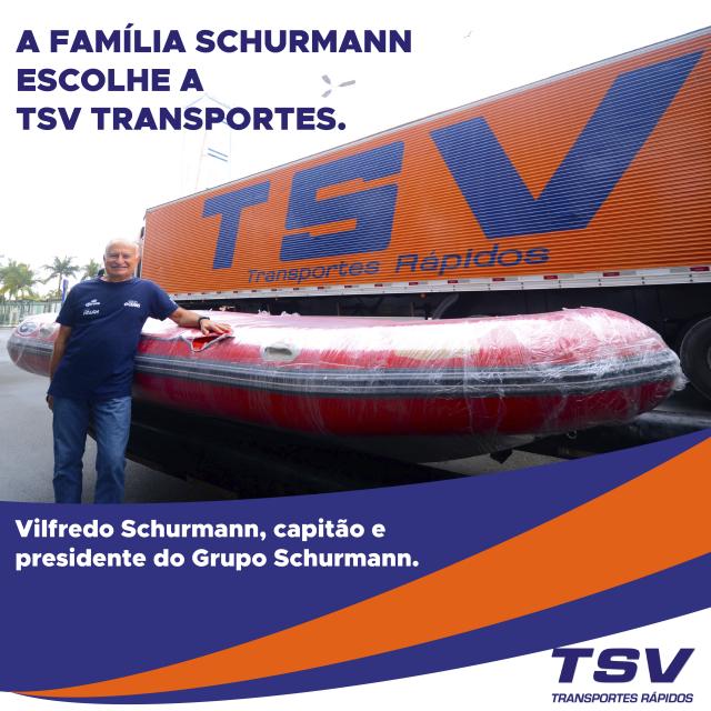 A Família Schurmann escolhe a TSV Transportes