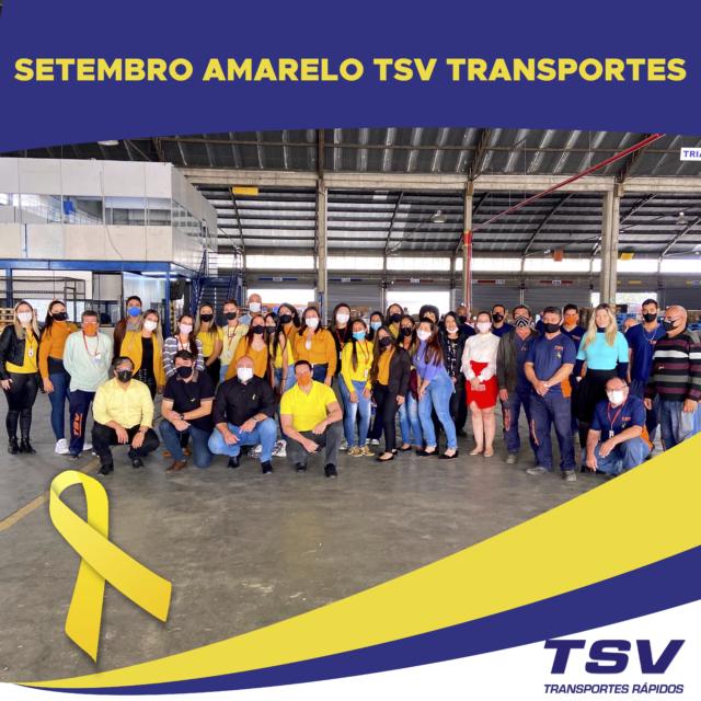 Setembro Amarelo TSV Transportes